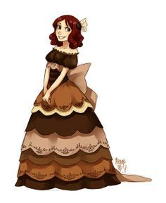 Schwarzwald cake fullbody by meago | Personified | Pinterest ...