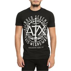 Avenged Sevenfold This Means War T-Shirt | Hot Topic ($16) ❤ liked on Polyvore featuring tops and t-shirts