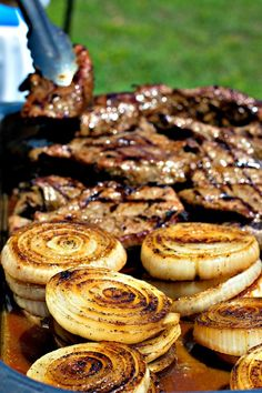 Grilled Vidalia Onion Sirloin
