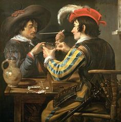 _The Card Players 5 - Theodoor Rombouts