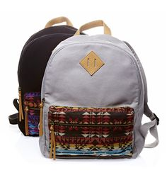 trend: tribal print - Arizona aztec print backpack