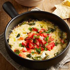 Skip the restaurant! Make this creamy queso dip at home -- no reservations needed.