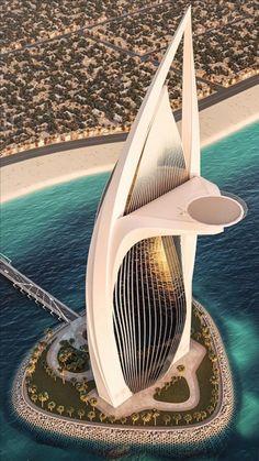 Hotel Architecture, Futuristic Architecture, Concept Architecture, Beautiful Architecture, Beautiful Buildings, Architecture Design, Arquitectos Zaha Hadid, Future Buildings, Unusual Buildings