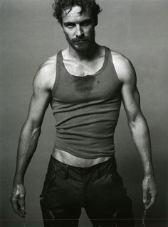 Oh, the sweet treasure that is Fassbender's happy trail...