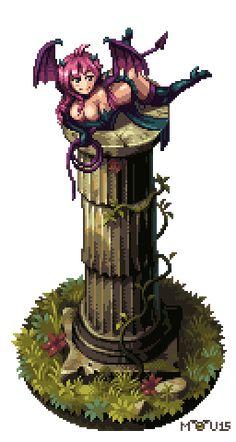 Retronator // Pixel Joint Top Pixel Art — August 2015 (Top 10...