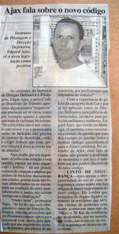 SÓ PARA LEMBRAR - Novo código de trânsito - www.ajax-pucci.blogspot.com