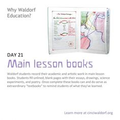 Day 21: Main lesson books