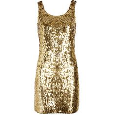 Moschino Paillette-embellished crepe mini dress (€745) ❤ liked on Polyvore featuring dresses, vestidos, gold, moschino, brown dress, brown cocktail dress, short mini dress, short fitted dresses and mini dress