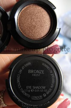 My favorite eyeshadow color, try it but as a liner behind your lower lashes!!! MAC - Bronze Eyeshadow
