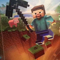 Sneak Peek: Minecraft Lego, coming soon!