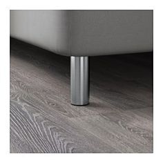 """IKEA - BJORLI, Leg, 3 7/8 """", , Durable and easy to clean as it is made of stainless steel."""