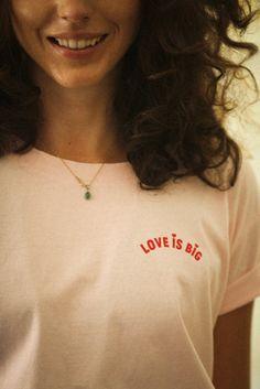 Willie Cool Oversize - Love Is Big - Rose Milkshake