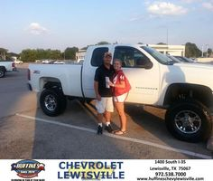 #HappyAnniversary to Lillard Jackson  on your 2013 #Silverado  from William Munford at Huffines Chevrolet Lewisville!