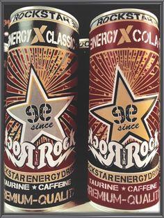 Rock Star Energy Drink since1999 : ROCKSTAR PREMIUM QALITY