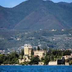 The magnificent private estate on Isola Borghese, the biggest island in Lake Garda - Instagram by globetrottergirls