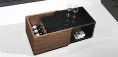 Coffee Table with Storage Compartment Box