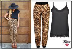 Logra este look salvajemente chic con los pantalones leopardo de nuestra nueva colección. Los encuentras en puntos Liverpool.