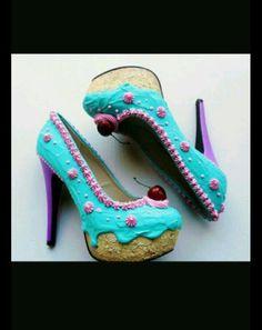#scarpe #torta #glassa