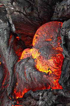 ~ 'Expressions of Nature' Hot Lava by Sergei Krasnoshchekov ~