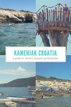 Kamenjak National Park in Croatia makes a great daytrip to the beach in Istria. Hawaii Travel, Thailand Travel, Italy Travel, Bangkok Thailand, Croatia Travel Guide, Croatia Tourism, Croatia Map, Istria Croatia, Cres Croatia