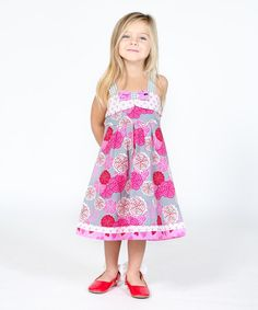 Look what I found on #zulily! Pink Love Letter Coley Dress - Infant, Toddler & Girls #zulilyfinds