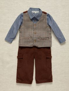 Wendy Bellissimo Boys 3 Piece Outfit $33