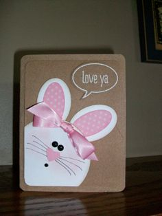 The Happy Stamper: sweet little Easter card