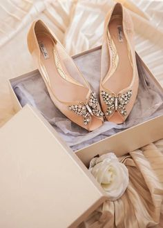 Aruna Seth Bridal Shoes | One Fab Day Best Bridal Shoes, Bridal Flats, Wedding Boots, Wedding Heels, High End Shoes, Flat Shoes, Sparkly Flats, How To Dye Shoes, Ballerina Pumps