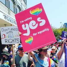 A few shots from the Queensland Unions team at #Pride2017    #ProudtobeUnion . . . . #marriageequality #VoteYES #EqualityisUnionBusiness #AusPol #LoveisLove #Brisbane #Pride #LGBTIQ #Australia