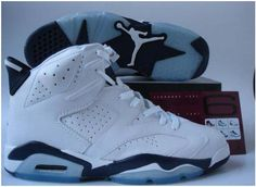 reputable site 2bfe3 18b5a Buy Nike Air Jordan 6 VI Retro Mens Shoes White Blue Online 2012 Best from  Reliable Nike Air Jordan 6 VI Retro Mens Shoes White Blue Online 2012 Best  ...