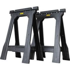 31 In. Folding Sawhorse Jr (twin Pack)