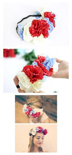 corona de flores 2: http://blog.glimbox.com/para-hacer-en-casa/