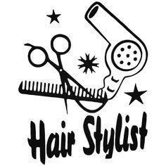 Occupational s Hair Stylist Occupation Decal  BallzBeatz . com