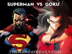 Superman vs Goku Who wins?
