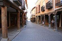 Medina de Rioseco - Calle típica.