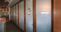 Hufcor GT Timber Framed Glass Wall at Ditka's Restaurant in Chicago, IL