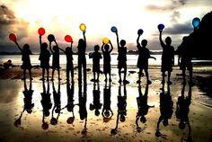 balloon sillouette