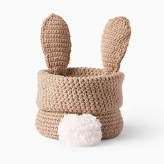 Yarnspirations is the spot to find countless free easy crochet patterns, including the Lily Sugar'n Cream Hoppy Easter Crochet Bunny Basket. Browse our large free collection of patterns & get crafting today! Crochet Crafts, Free Crochet, Yarn Crafts, Free Knitting, Easter Bunny Crochet Pattern, Baby Easter Basket, Beginner Crochet Projects, Knit Basket, Holiday Crochet