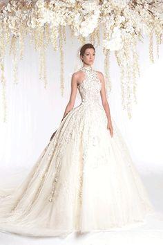Ziad Nakad wedding ball gown