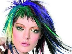 94 Best Wild Streaks Images Colourful Hair Colorful Hair