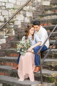 A Romantic Savannah Engagement: Daniel + Amber