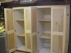 Delightful How To Build Storage Cabinets For Garage Discount!