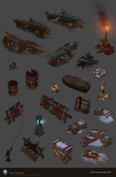 ArtStation - Diablo 3 Environment Props and FX, Neal Wojahn