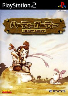 """Cool Box Art no Twitter: """"Herdy Gerdy / PlayStation 2 / Eidos / 2003… """" . Game Data, Wild Creatures, Playstation 2, Box Art, Islands, Avengers, Disney Characters, Fictional Characters, Japan"""