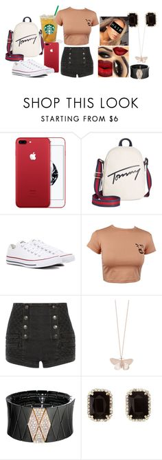 """Simple Girl #9"" by liialuvs ❤ liked on Polyvore featuring Tommy Hilfiger, Converse, Pierre Balmain, Alex Monroe, Roberto Demeglio and Charlotte Russe"
