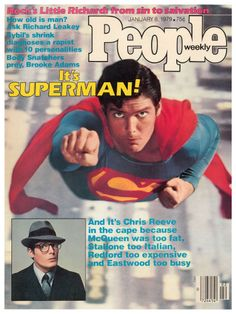 People Magazine (1979) MAN, MISS him so much as SUPERMAN! The greatest portrayal of all time!