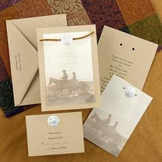 western wedding invitation  So many cool ideas... can I get married all over again now that I've found pinterest???lol