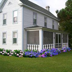 farm house landscaping | House Makeover Ideas: Farmhouse After