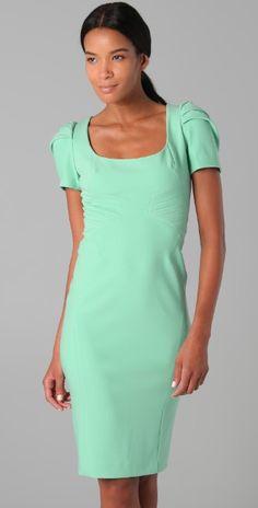 Zac Posen Short Sleeve Dress | SHOPBOP