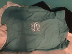 Pillow cases need monograms too